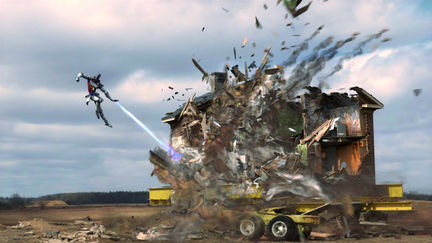 Destructions aren't caused by bad people. They're caused by the gravity.