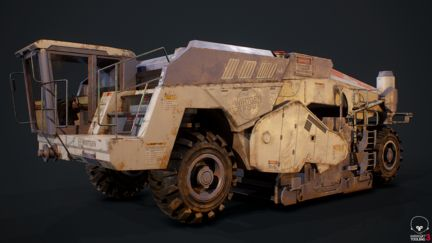Wirtgen 200 Game Asset