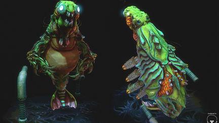 Draygon  - Super Metroid Boss
