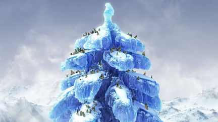 Christmas tree - Luxology holiday contest image