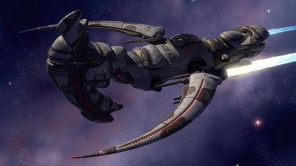 EVE-Online contest // spaceship design entry