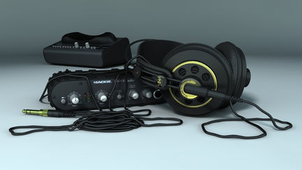 Mackie Audio and AKG Headphone