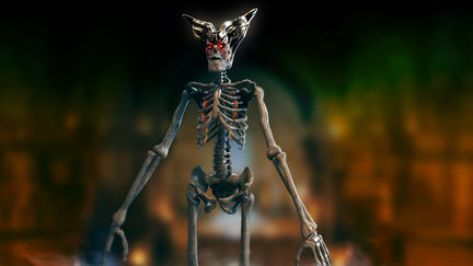 Scarab Skeleton Warrior