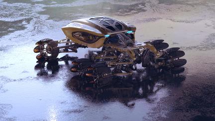 All terrain rover
