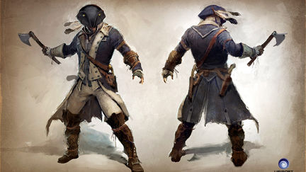 Assassin's Creed Connor, Captain of the Aquila outfit concept