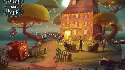 Hôtel des Bains - illustration