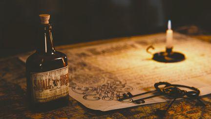 A Pirate's Desk