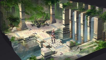 Temple Entrace