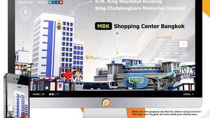 Virtual Bangkok City 2016