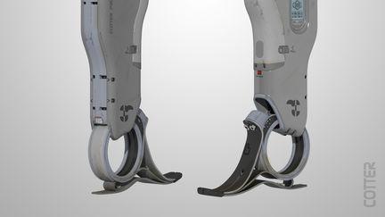 prosthetic leg design 2