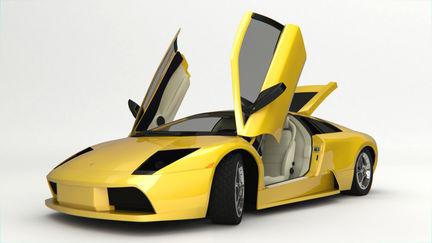 Lamborghini Murcielago Studio Shoot