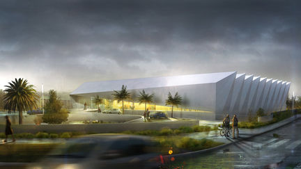 Sports complex By rainy day ( Julien Weber ) 1/2