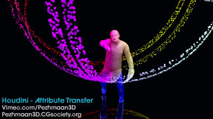 Houdini - Attribute Transfer