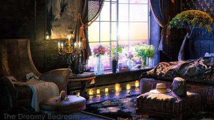 The dreamy bedroom
