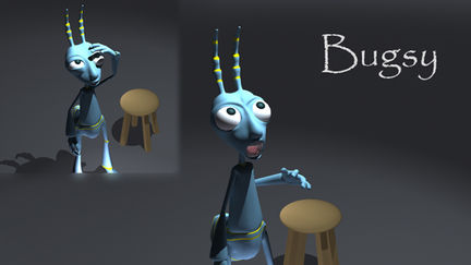 Bugsy Animation Render