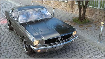 Ford Mustang - 1967 Bullit