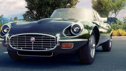 Jaguar Car Rendering