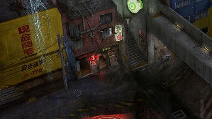 Tokyo Streetscene (Night)