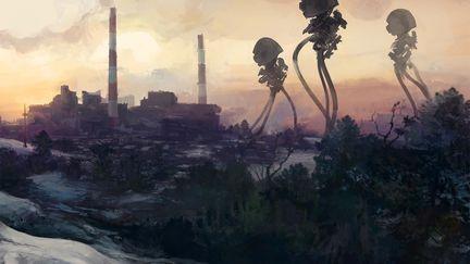 War of the Worlds sketch #2
