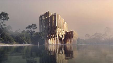 Zaha Hadid - Sleuk Rith Institute