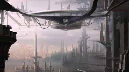 Alien Transportation- Concept Painting
