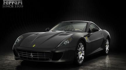 Ferrari fiorano 599 GTB studioshot