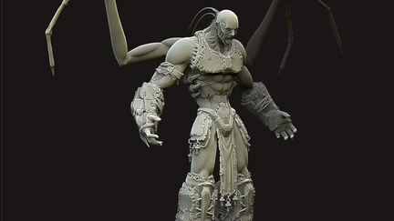Dominance War V - 3D - Jorge Lescale - God of Darkness _HPE