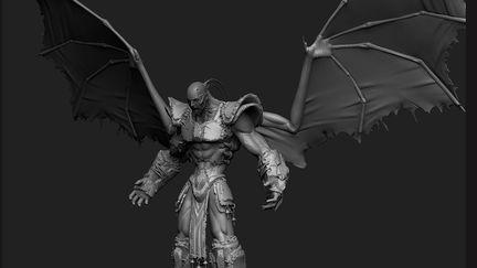 Dominance War V - 3D - Jorge Lescale - God of Darkness_F