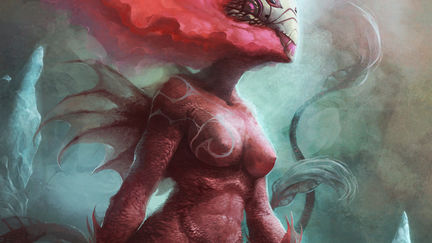 birth of a red dragon