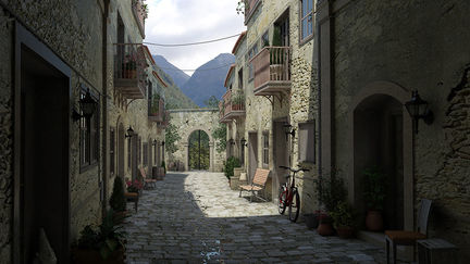 Old World Alley