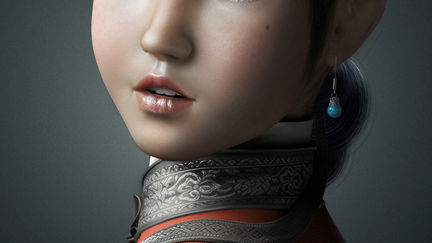 Girl from QING Dynasty