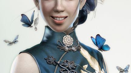 girl in cheong-sam