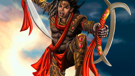 Michael Jackson Warrior