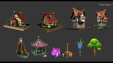 3D Fantasy Art Asset