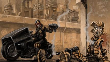 Dredd: Judgement time