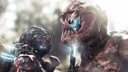 """NKS MK - IX vs Alien """" The Battle"""""""