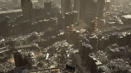3D Environment_apocalyptic city