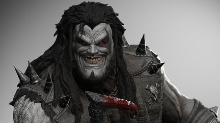 Injustice Lobo Digital renders ( Prime1 Studio)