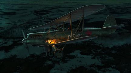 Last flight of pilot Alexander Mamkin