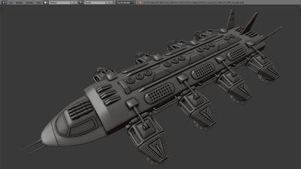 heavy duty spaceship