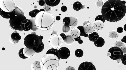 Spheres Black/White version