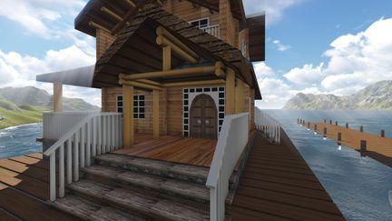 3D Lake House