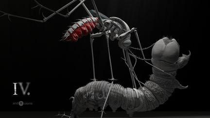 Mosquito Alien II - egg