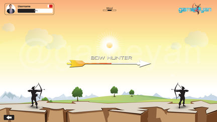Bow Hunter – Mobile , iOS and Android Game Design by GameYan 3D Art Outsourcing London, UK.