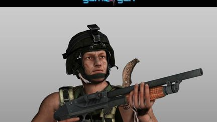 Low poly soldier game model with assets by Gameyan Game Development Studio - Chicago, USA