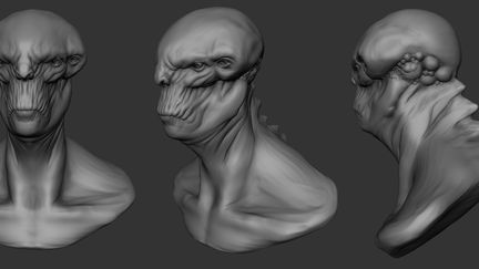 Alien Bust -=work in progress=-