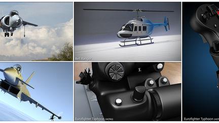 Various aviation renders