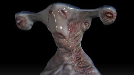 Shark Man Head