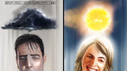 Cloud and sun