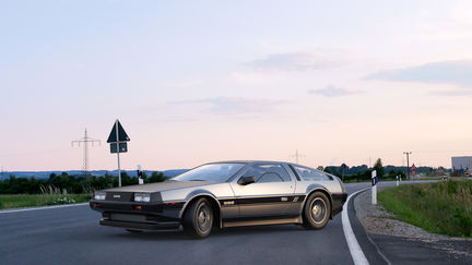 Delorean at Dusk